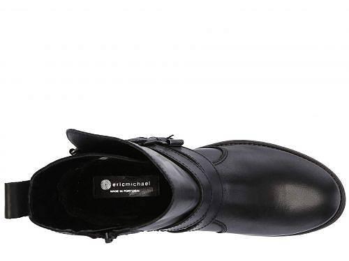 EricMichaelエリックマイケルレディース女性用シューズ靴ブーツアンクルブーツショートEricMichaelエリックマイケルJanel-Black