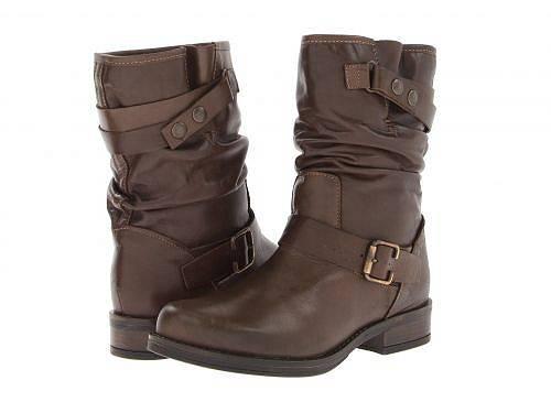 エリックマイケルEricMichaelレディース女性用シューズ靴ブーツミッドカフLaguna-Brown