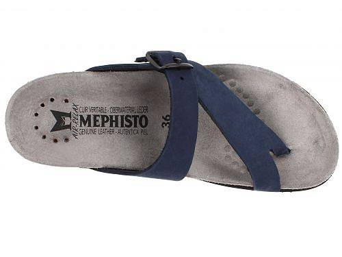 メフィストMephistoレディース女性用シューズ靴サンダルHelen-NavyNubuck