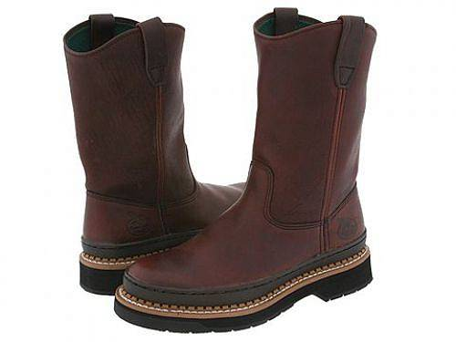 ジョージアブーツGeorgiaBootメンズ男性用シューズ靴ブーツ安全靴ワーカーブーツGeorgiaGiantWellington-Brown