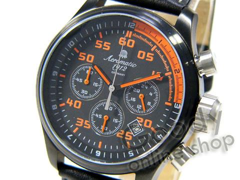 腕時計【Aeromatic 1912(エアロマティック 1912) A1325 ドイツ製 クロノグラフ メンズウォッチ 腕時計】