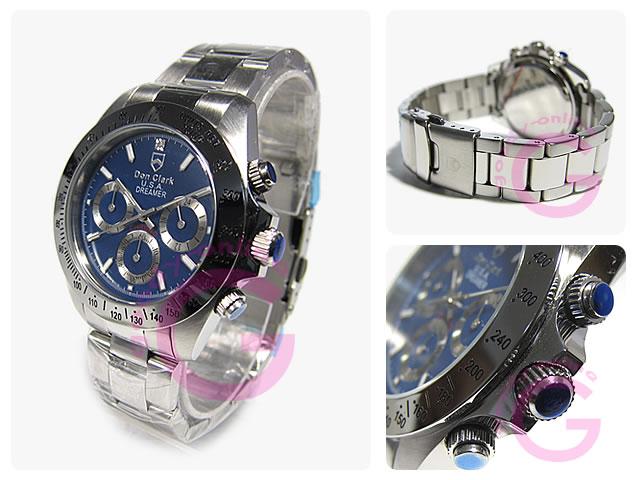DON CLARK (ダンクラーク)  DM-2051-04/DM2051-04 クロノグラフ メンズウォッチ 腕時計