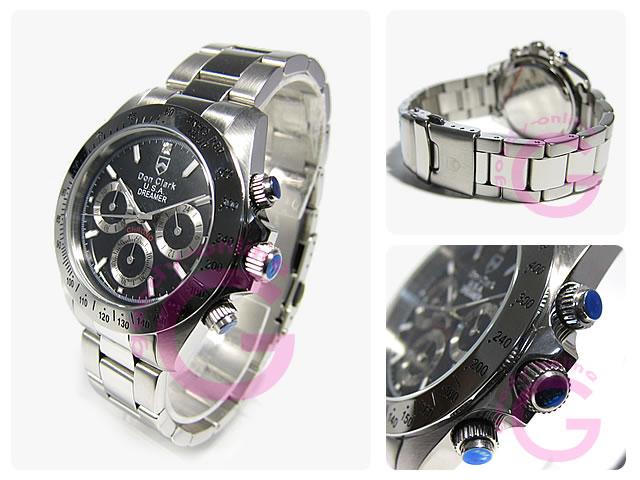 DON CLARK (ダンクラーク)  DM-2051-05/DM2051-05 クロノグラフ メンズウォッチ 腕時計