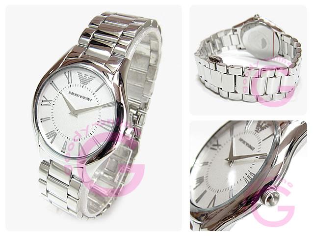 EMPORIO ARMANI / エンポリオアルマーニ AR2056  スーパースリム メタルベルト レディースウォッチ 腕時計