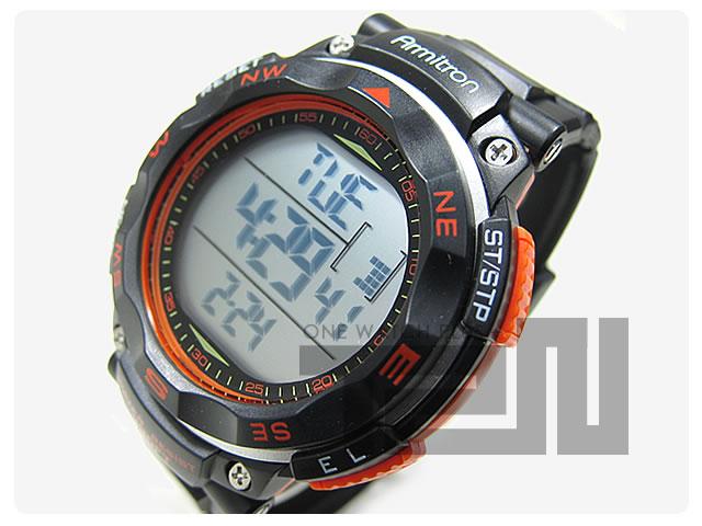 Armitron (アーミトロン) 40-8254ORG デジタル スポーツ メンズウォッチ 腕時計