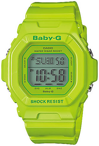 CASIO BABY-G (カシオ ベビーG/ベイビーG) BG-1001-1V/BG1001-1V プリセットタイマー 腕時計