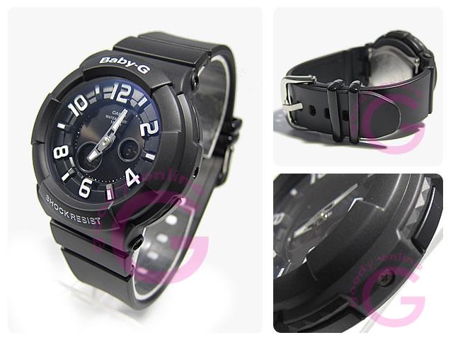 CASIO BABY-G (カシオ ベビーG/ベイビーG) BGA-132-1B/BGA132-1B ネオンダイアルシリーズ レディースウォッチ 腕時計