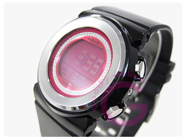 CASIO BABY-G (カシオ ベビーG/ベイビーG) BGD-102-1DR ジェミーダイアル ブラック レディース 腕時計
