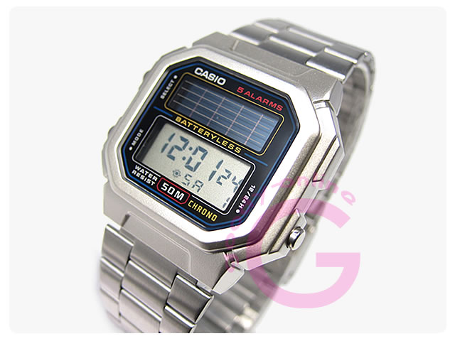 CASIO (カシオ) AL-190WD-1A/AL190WD-1A スタンダード ソーラー電池 メンズウォッチ 腕時計