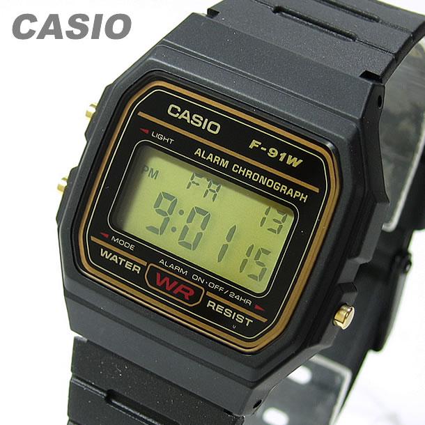 CASIO(カシオ) F-91WG-9/F91WG-9 スタンダード デジタル ユニセックスウォッチ 腕時計
