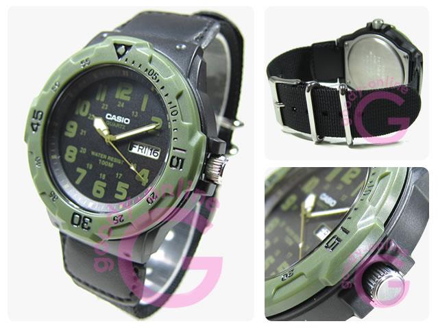 CASIO (カシオ) MRW-200HB-1B/MRW200HB-1B スポーツギア ペアモデル メンズウォッチ 腕時計