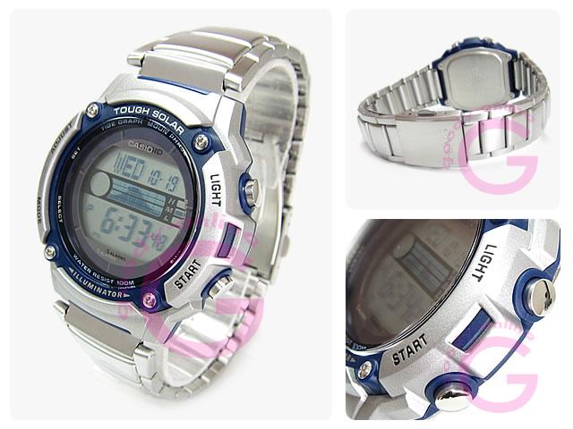 CASIO (カシオ) W-S210HD-1A/WS210HD-1A スポーツギア タフソーラー メンズウォッチ 腕時計