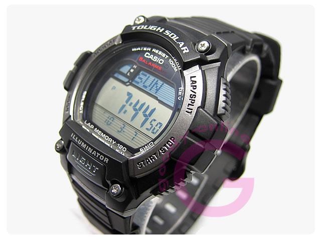 CASIO (カシオ) W-S220-1AV/WS220-1AV スタンダード タフソーラー メンズウォッチ 腕時計