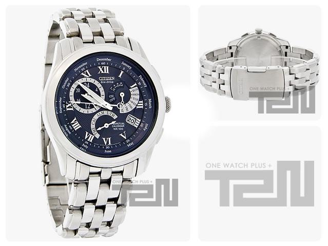 CITIZEN (シチズン)BL8000-54L Eco-Drive/エコドライブ Calibre 8700 パーペチュアルカレンダー ブルーダイアル メタルベルト メンズウォッチ 腕時計