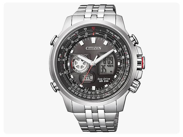 CITIZEN/シチズン CA4036-03E PROMASTER/プロマスター SKY- EcoDrive/スカイ-エコドライブ ソーラー アナデジ メンズウォッチ 腕時計