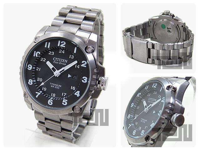 CITIZEN(シチズン) BJ8070-51E EcoDrive】エコドライブ ソーラーチタン採用 腕時計