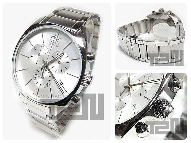 Calvin Klein CK(カルバンクライン CK) K2F271.26/K2F27126 EXCHANGE クロノグラフ 腕時計