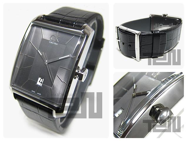 Calvin Klein CK(カルバンクライン CK) K2M211.07/K2M21107 WINDOW ウィンドウ 腕時計