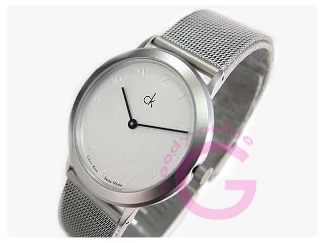 Calvin Klein(カルバンクライン)Minimal/ミニマル K311120/K3111.20 メッシュ メンズウォッチ 腕時計