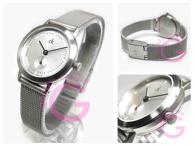 Calvin Klein(カルバンクライン) ミニマル アップグレード K333126/K3331.26 メッシュ レディースウォッチ 腕時計