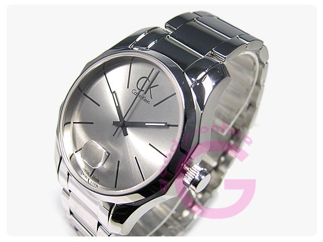Calvin Klein / カルバンクライン CK ビズ K77411.26/K7741126 ステンレスベルト メンズウォッチ 腕時計