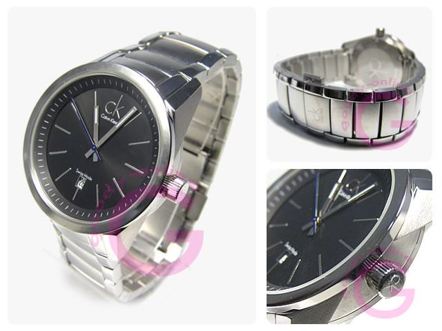 Calvin Klein / カルバンクライン CK K95112.26/K9511226 ステンレスベルト メンズウォッチ 腕時計