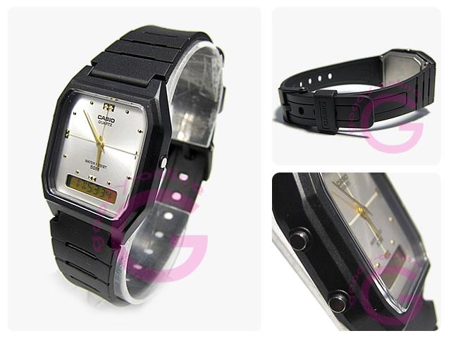 CASIO(カシオ) AW-48HE-7/AW48HE-7 シンプルデジタル アナデジ ユニセックスウォッチ 腕時計