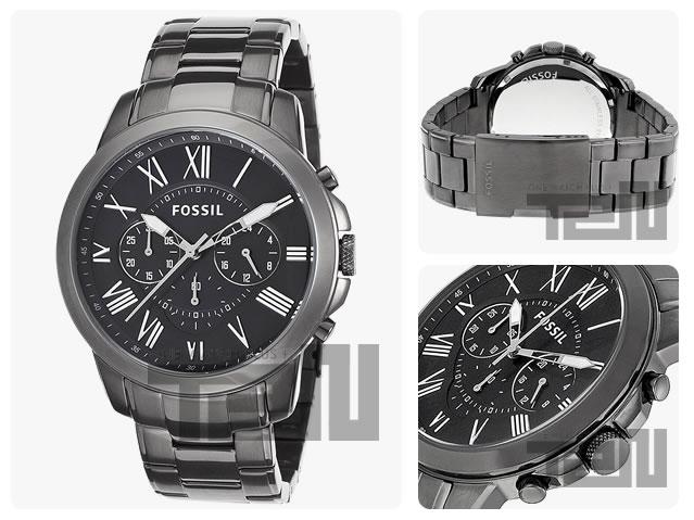 FOSSIL (フォッシル)FS4831 Grant/グラント クロノグラフ メンズウォッチ 腕時計