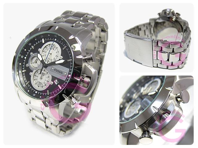 FOSSIL (フォッシル) JR1265 クロノグラフ カジュアル メンズウォッチ 腕時計