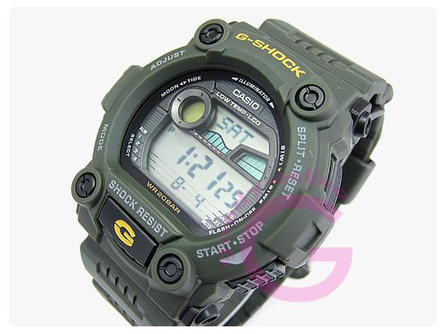 CASIO G-SHOCK(カシオ Gショック)  G-7900-3/G7900-3 タイドグラフ 耐低温仕様 メンズウォッチ 腕時計