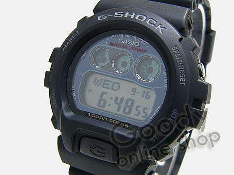 腕時計【CASIO G-SHOCK(カシオ Gショック) G-6900-1DR/G6900-1 タフソーラー搭載 海外モデル メンズウォッチ 腕時計】
