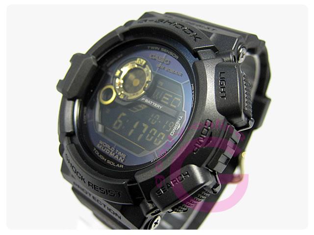 CASIO G-SHOCK(カシオ Gショック) G-9300GB-1/G9300GB-1 ブラック×ゴールドシリーズ メンズウォッチ 腕時計