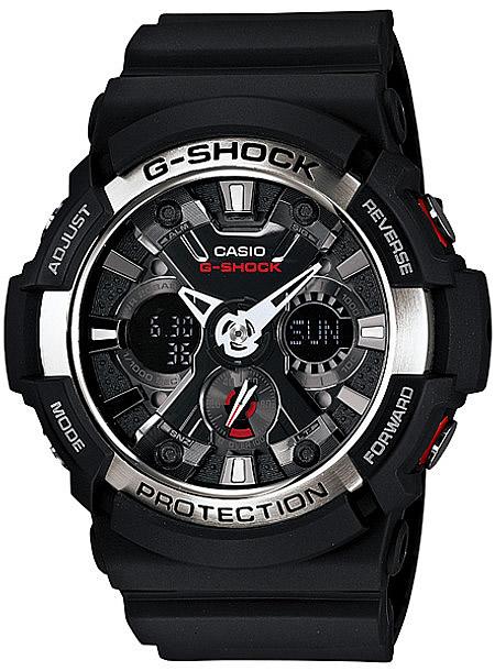 CASIO G-SHOCK(カシオ Gショック) GA-200-1A/GA200-1A アナデジ 腕時計