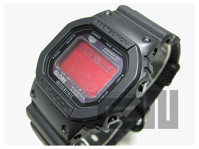 CASIO G-SHOCK(カシオ Gショック) GRX-5600GE-1/GRX5600GE-1 GLOBE タイドグラフ タフソーラー搭載 腕時計