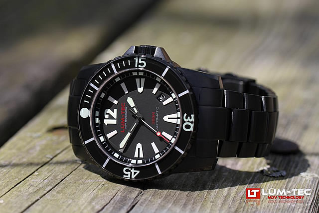 LUM-TEC(ルミテック) 300M-2XL 自動巻き ダイバーズ 300m防水 45mm メンズウォッチ 腕時計