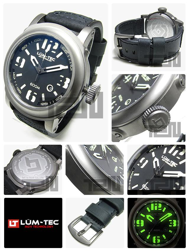 LUM-TEC(ルミテック) 600M-1 Abyss Miyota 9015 腕時計