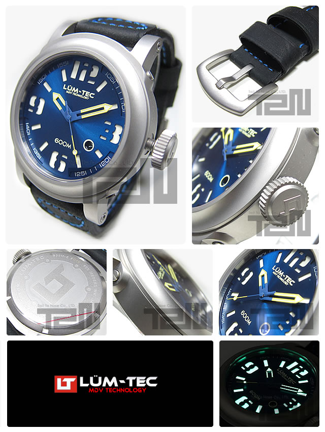 LUM-TEC(ルミテック) 600M-2 Abyss Miyota 9015 腕時計