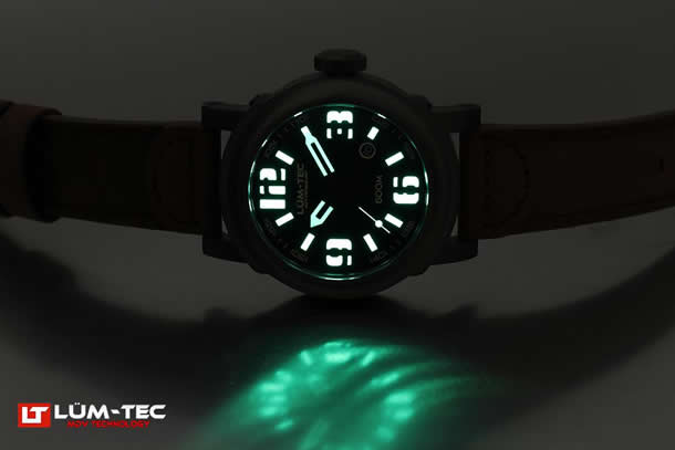 LUM-TEC(ルミテック) 600M-3 Abyss Miyota 9015 腕時計