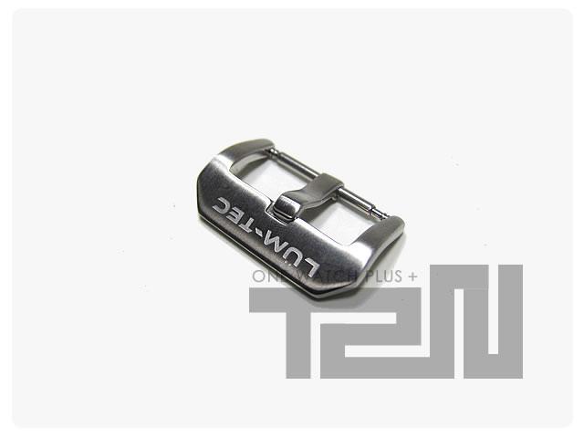 LUM-TEC(ルミテック) ステンレスバックル 22mm用 尾錠 腕時計用