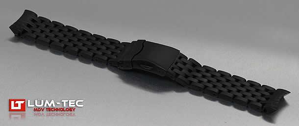 LUM-TEC(ルミテック) Combat B クォーツモデル対応 316Lステンレス 純正 替えベルト 腕時計
