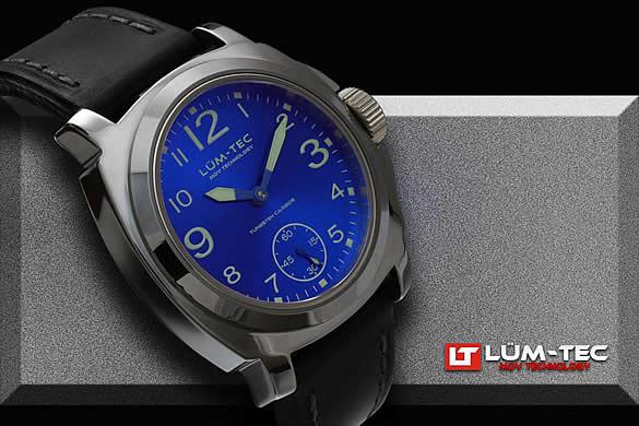 LUM-TEC(ルミテック) M21 Mタングステン 手巻き ETA6498-1 メンズウォッチ 腕時計