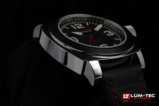 LUM-TEC(ルミテック) 【世界限定生産】 M63 M COBALT Miyota 9015 40mm 腕時計