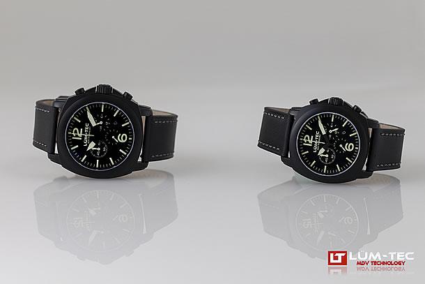 LUM-TEC (ルミテック)M72 44mm クロノグラフ Miyota OS20Jムーブメント採用 メンズウォッチ 腕時計