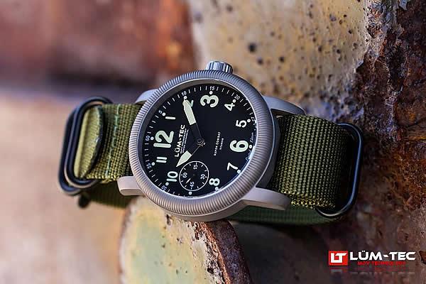 LUM-TEC (ルミテック) Super Combat B3 Limited 手巻き ミリタリー 腕時計