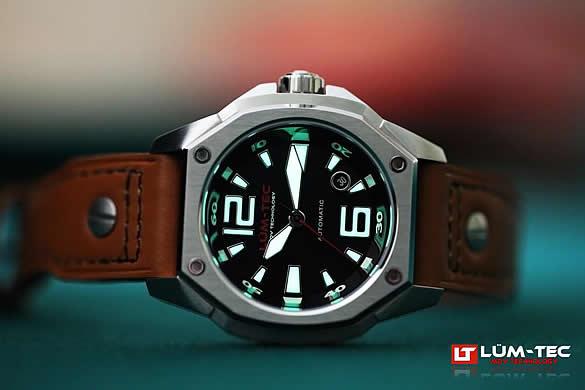 LUM-TEC(ルミテック) V1 RED Limited Edition Vシリーズ 自動巻き ETA2824-2 メンズウォッチ 腕時計