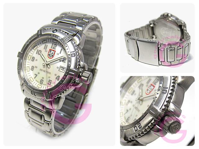 LUMINOX(ルミノックス)  7258 ネイビーシールズ カラーマーク レディースウォッチ 腕時計