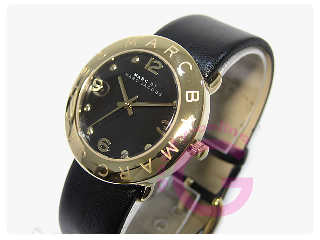MARC BY MARC JACOBS(マークバイマークジェイコブス)  MBM1154 Amy/アミー レザーベルト レディースウォッチ 腕時計
