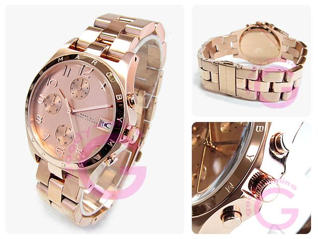 MARC BY MARC JACOBS(マークバイマークジェイコブス) MBM3074 Henry/ヘンリー クロノグラフ ボーイズサイズ ユニセックスウォッチ 腕時計