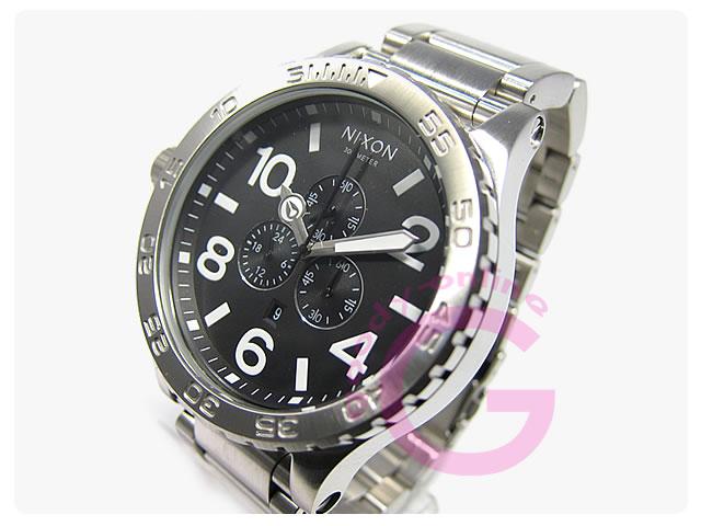 NIXON(ニクソン) THE 51-30 A083-000/A083000 クロノグラフ メンズウォッチ 腕時計