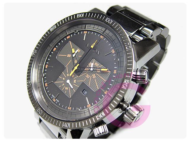 NIXON(ニクソン) A154-1235/A1541235 マグナコン クロノグラフ スティールグレー メンズウォッチ 腕時計